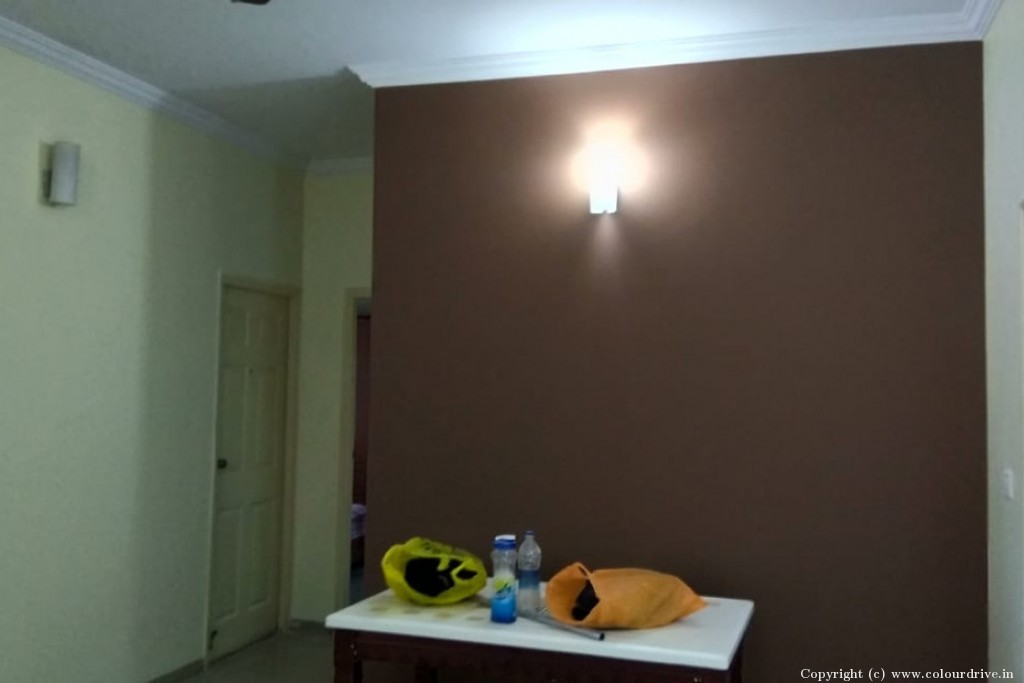 Interior Home Painting Project at Adarsh Esplanade Apartment, HSR Layout, Bangalore