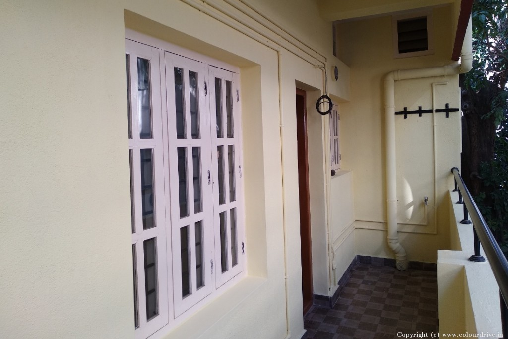 Exterior Home Painting Project at 1st Main, MICO Layout, Arekere, Bangalore
