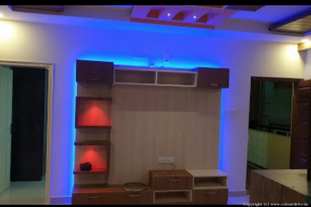 Interior Home Painting Project at KV Lake Front Apartment, Yelachenahalli, Kanakpura Road, Bangalore