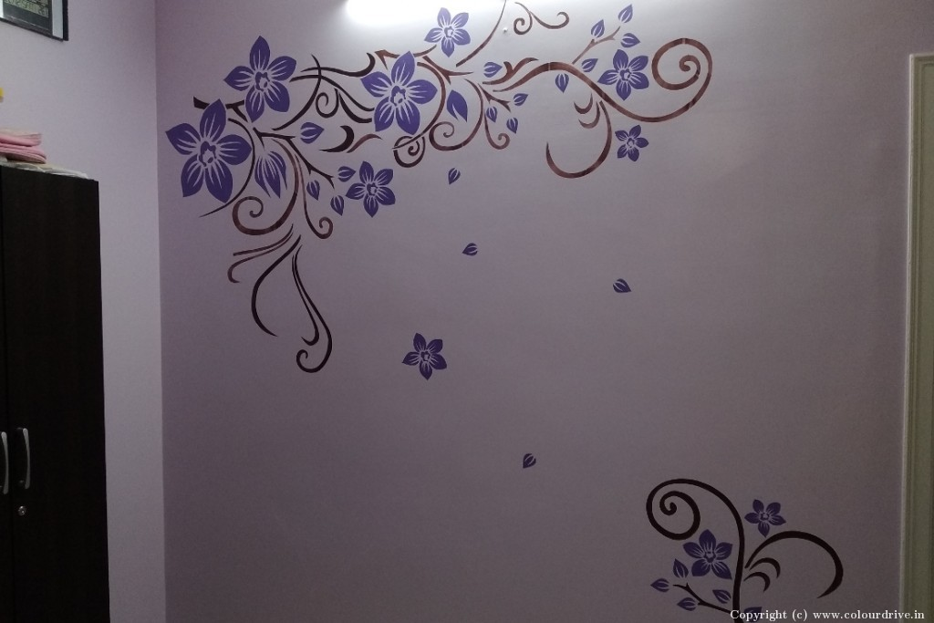 Free Hand Art Home Painting Project at KR Layout, JP Nagar , Bangalore