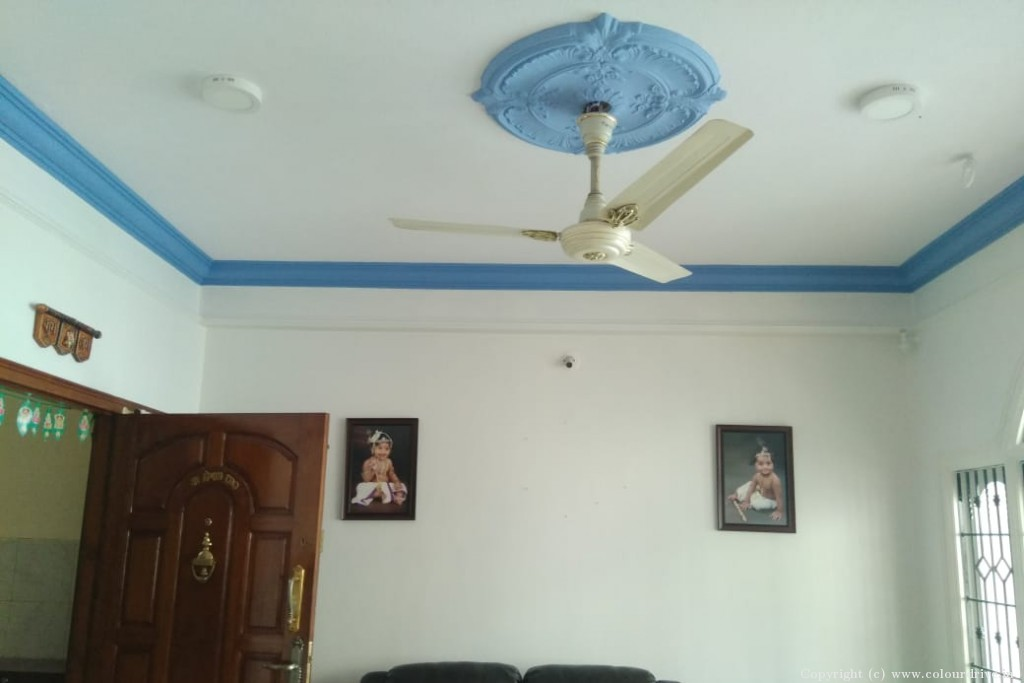 Interior Home Painting Project at KR Layout, JP Nagar , Bangalore