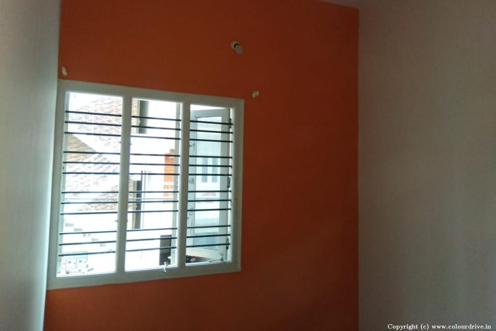 Interior Home Painting Project at Vishwapriya Nagar,, Begur Road, Bangalore