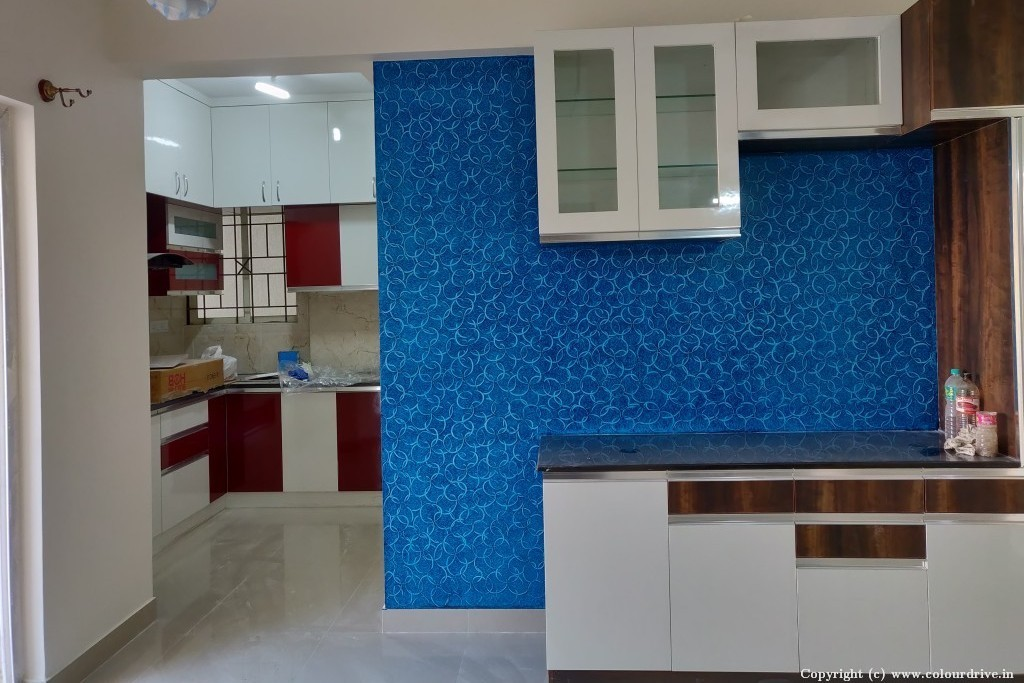 Texture Home Painting Project at SK Daisy Apartment,,  Neeladri Road, Electronic city phase 1,, Bangalore