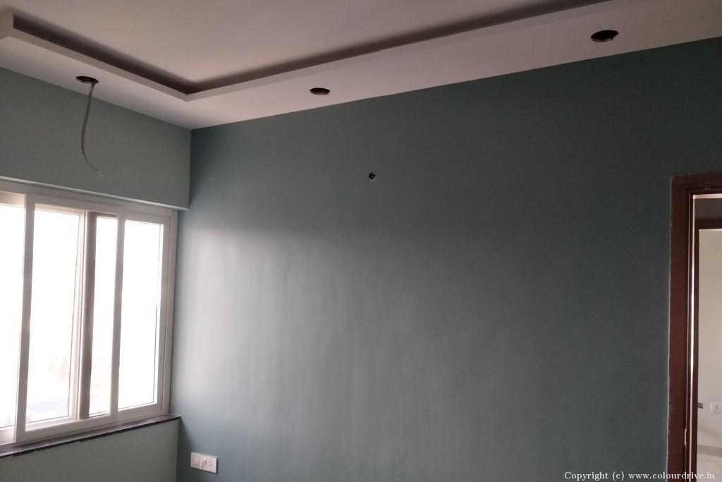 Interior Home Painting Project at Ranka Colony, , Bilekahalli, Banargatta road, Bangalore