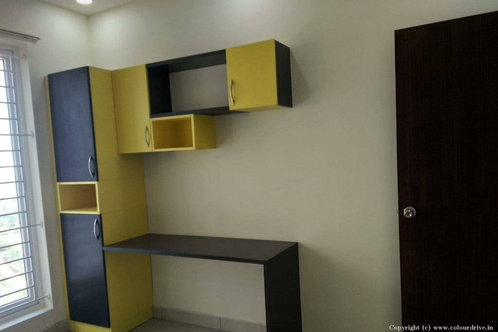 Interior Home Painting Project at Purva Skydale, Silver County road, Kudlu,,  Harlur Road, Bangalore