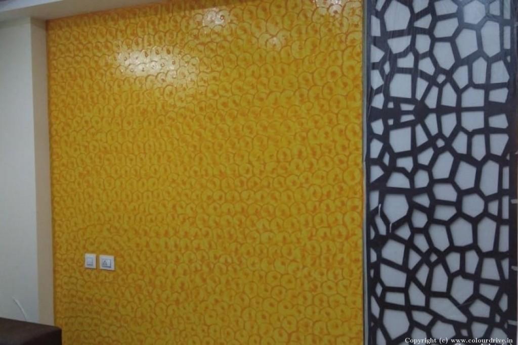 Interior Home Painting Project at Luxor Apartment, , Masjid banda road, Kondapur, Hyderabad