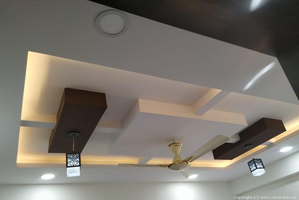 Interior Home Painting Project at Trishala the Life,  Bikshapathi Nagar, Hafeezpet , Hyderabad