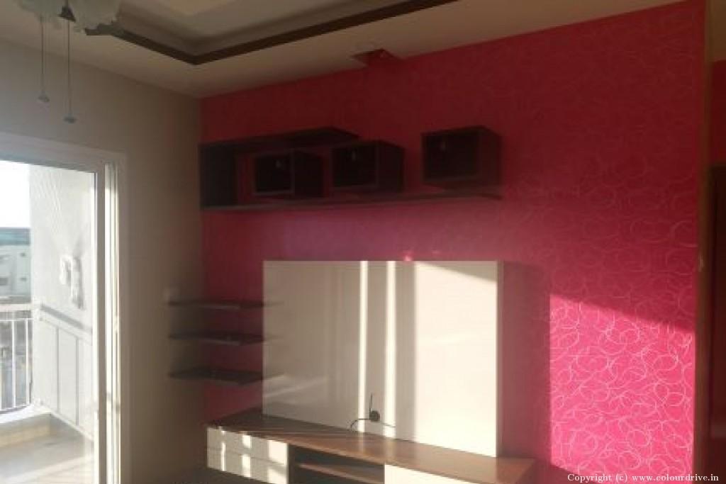 Interior Home Painting Project at  Shobha Silicon Oasis apartment, Basapura, Hosa road,, Electronic City , Bangalore