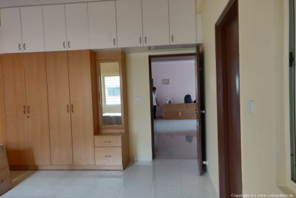 Deep Cleaning,  Interior Home Painting Project at Esteem Enclave Apartment, Bannerghatta main road, Bangalore