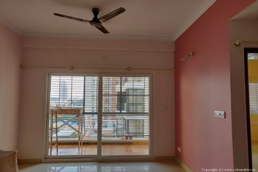 Interior Home Painting Project at Esteem Enclave Apartment, Bannerghatta main road, Bangalore