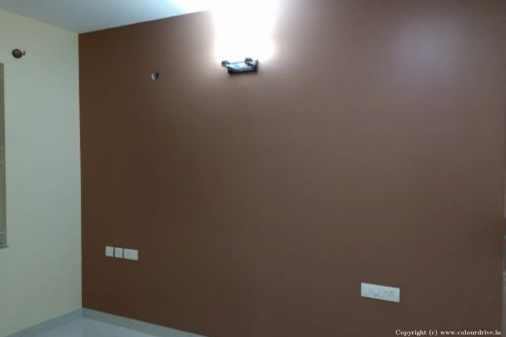 Interior Home Painting Project at Purva Westend apartments, Kudlu Gate, Hosur road, Bangalore
