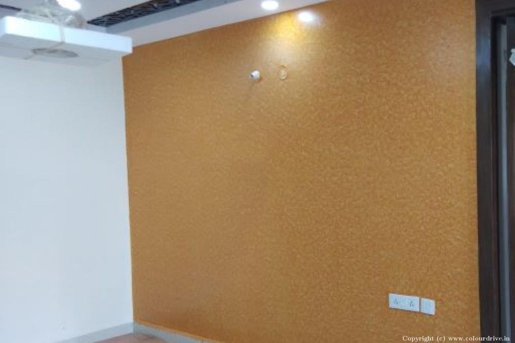 Texture Home Painting Project at Kamalakar rao classic Colony, Vivekananda Nagar, Kukatpally, Hyderabad