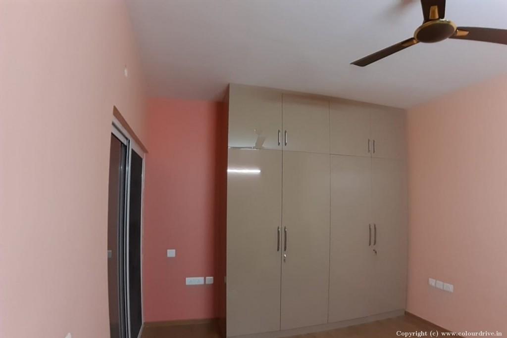 Interior,  Rental Home Painting Project at Brigade Meadows - Plumeria, Saalu Hunase Village, Kanakapura Road, Bangalore