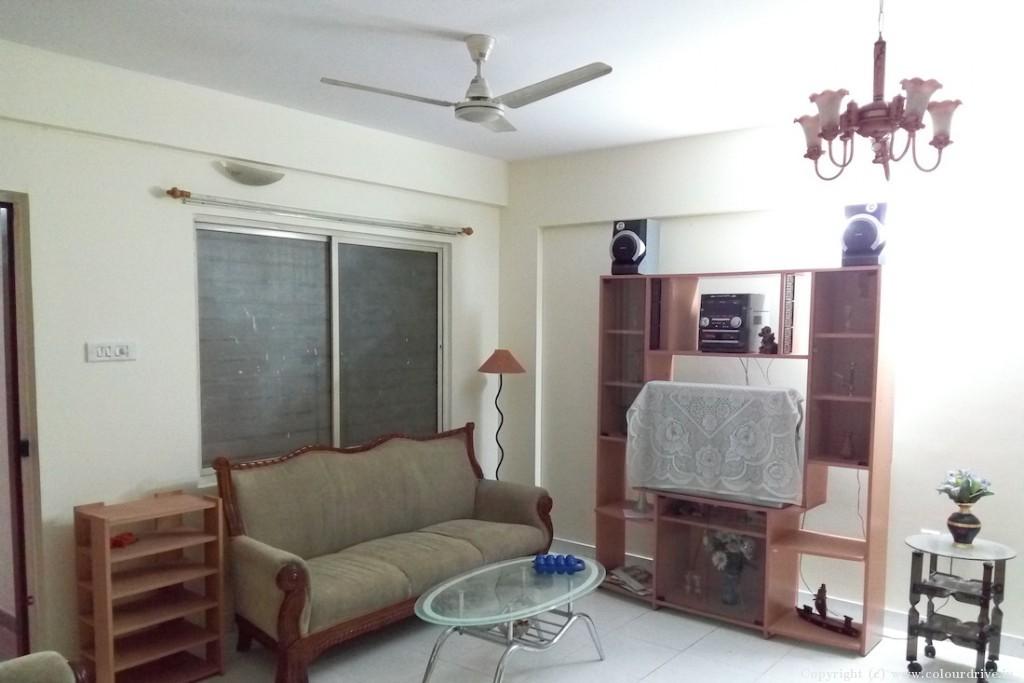 Interior Painting Home Painting Project at Kagdaspura, Shastri Nagar, Bangalore