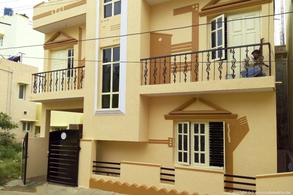 Exterior Home Painting Project at Horamavu, Horamavu, Bangalore