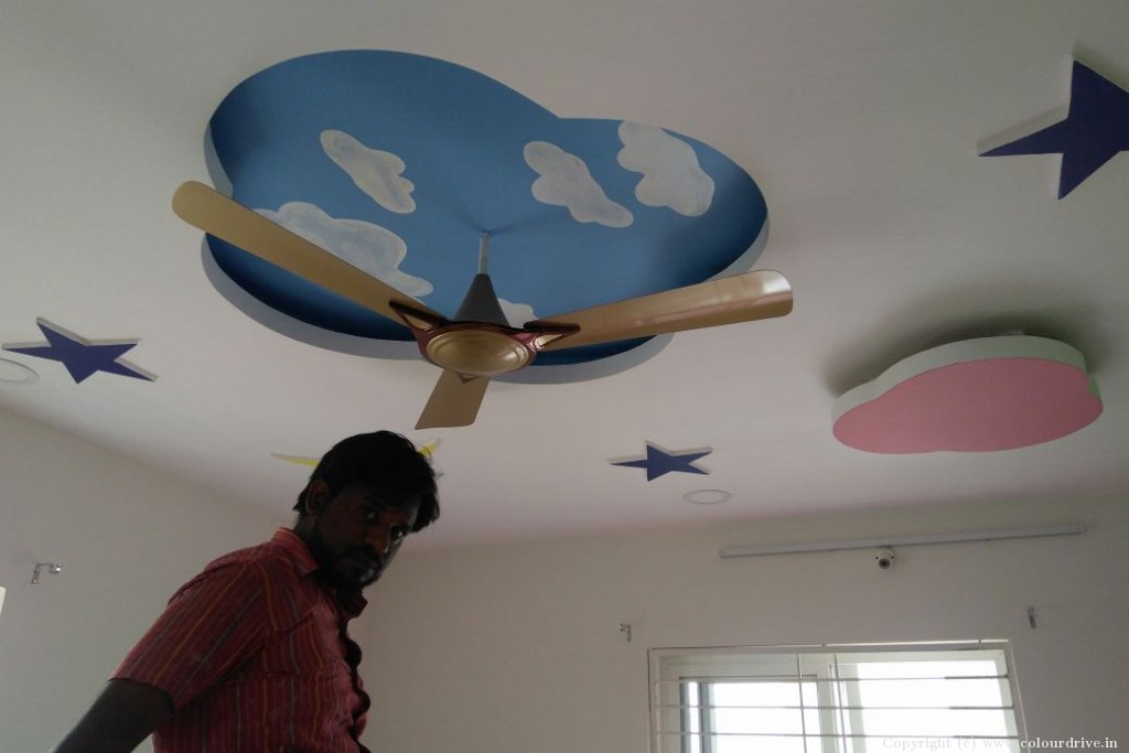 Stencil Home Painting Project at Alkapoor Township, Manikonda, Hyderabad