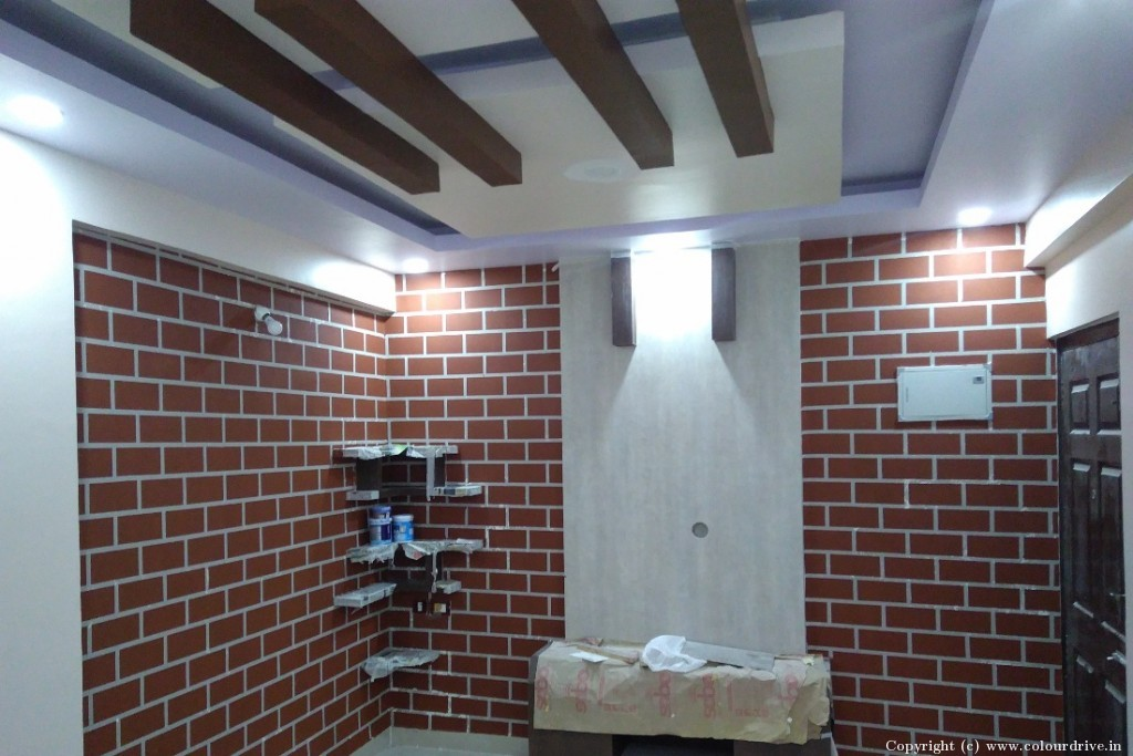 Texture Home Painting Project at Himagiri Residency, Electronics City, Bangalore