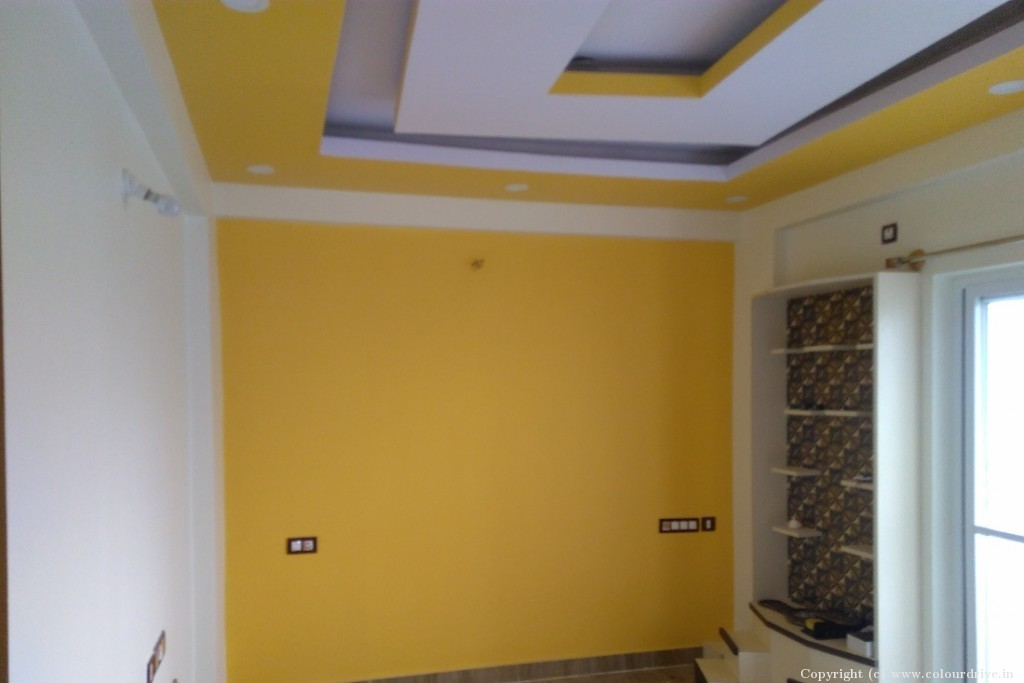 Interior Home Painting Project at Himagiri Residency, Electronics City, Bangalore