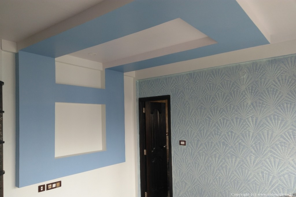 False Ceiling Home Painting Project at Himagiri Residency, Electronics City, Bangalore