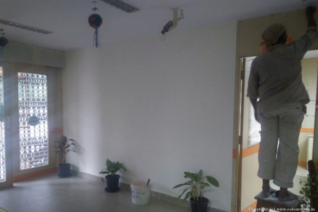 Interior Home Painting Project at Sikh Road, Sector C, Jupiter Colony, Bowenpally, Secunderabad, Hyderabad