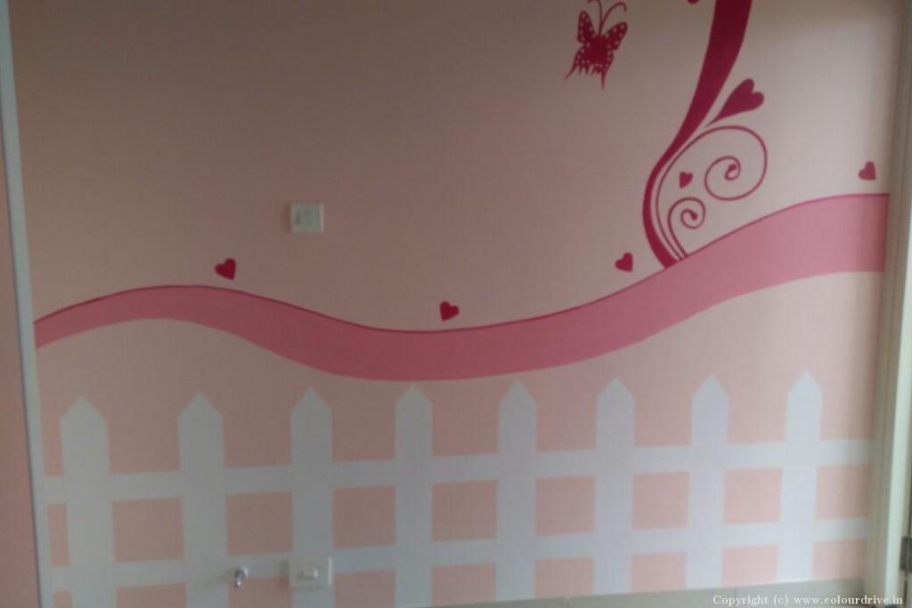 Interior Home Painting Project at Aparna CyberZon, Nallagandla, Chanda Nagar, Hyderabad