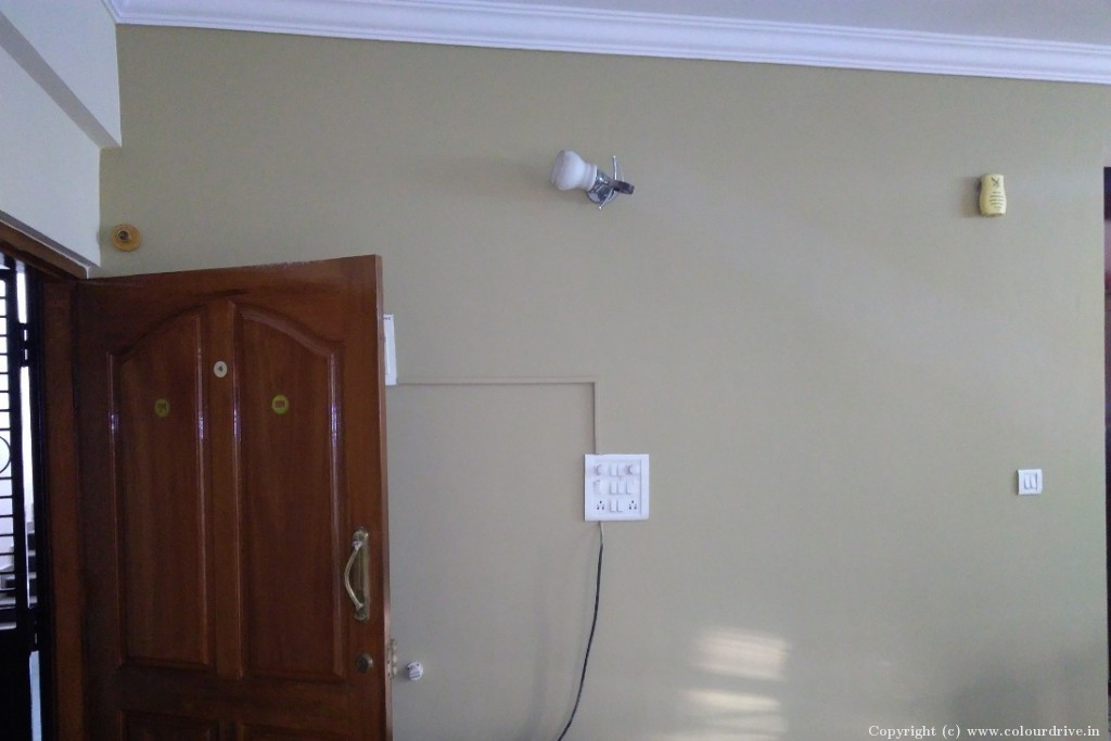 Interior Home Painting Project at MS Park Apartment, Gottigere, Bannerghatta Road, Bangalore