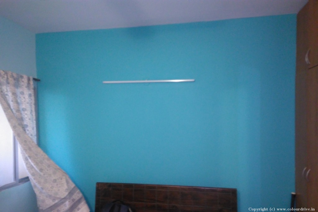 Interior Home Painting Project at Green Sky Blue Forest Apartment, JP Nagar, Bangalore