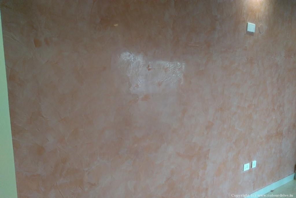 Texture Home Painting Project at Mahaveer Riviera Apartment, JP Nagar, Bangalore