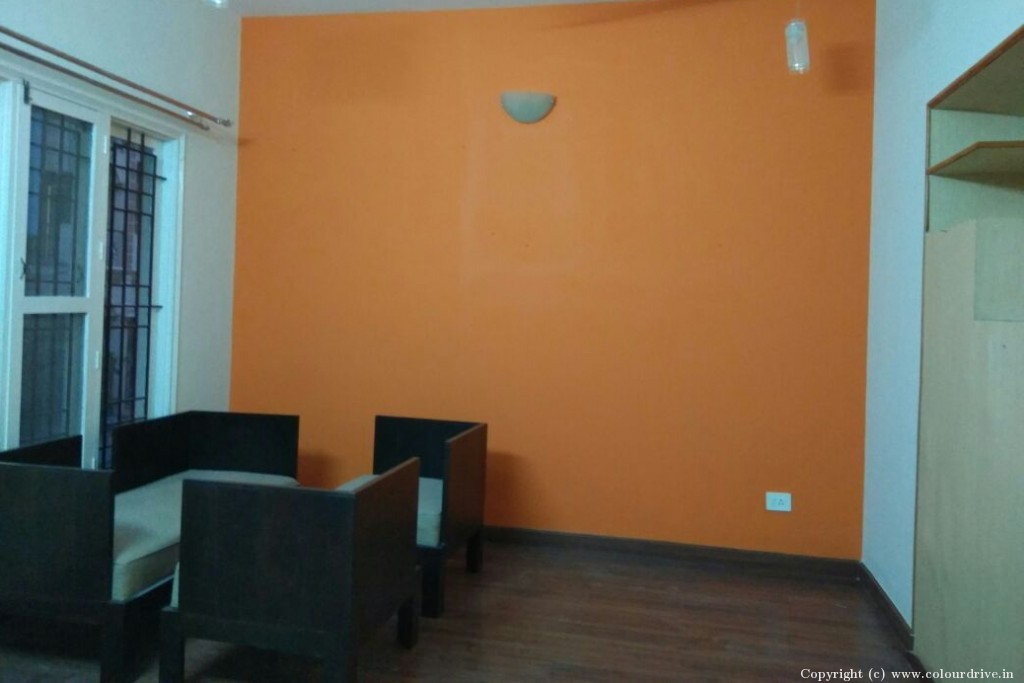 Interior Home Painting Project at Amarjyoti Layout, Domlur, HAL Old Airport Road, Bangalore