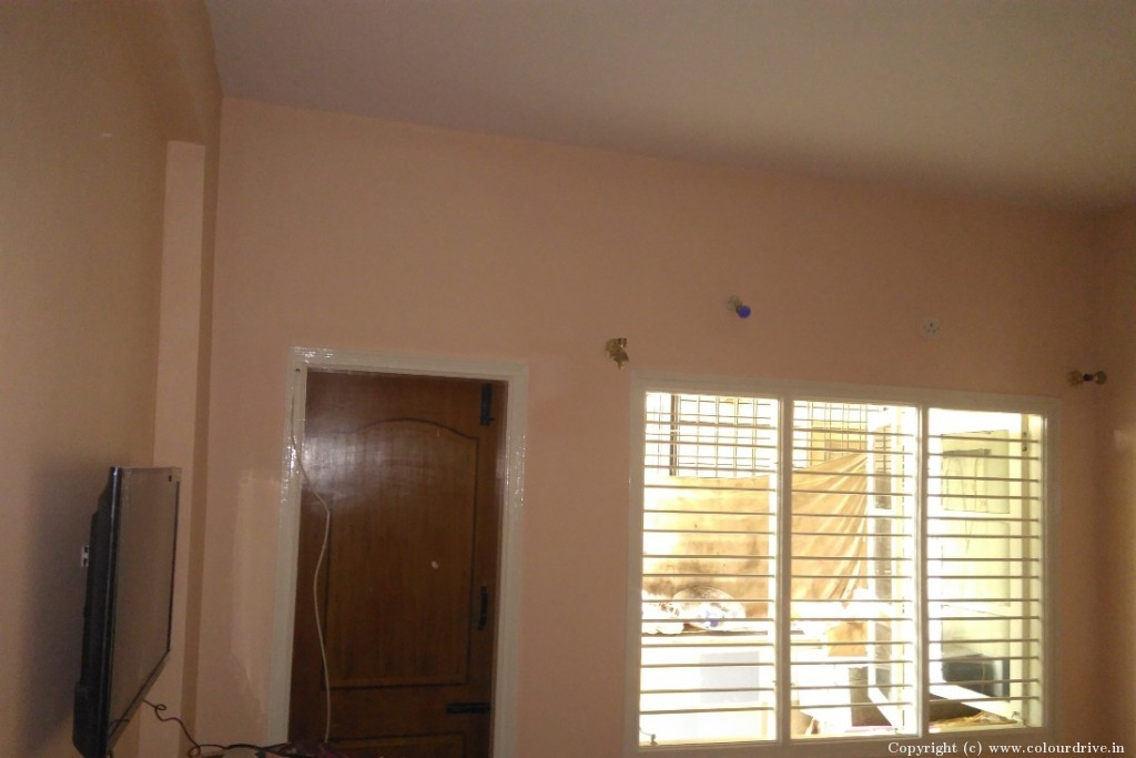 Interior Home Painting Project at Elegant Palace, Nobonagar, Hulimavu, Bannerghatta Road, Bangalore
