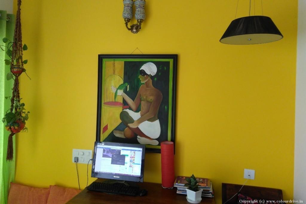 Interior Home Painting Project at Klassic Benchmark Apartment, Doddakammanahalli, Bannerghatta Road, Bangalore