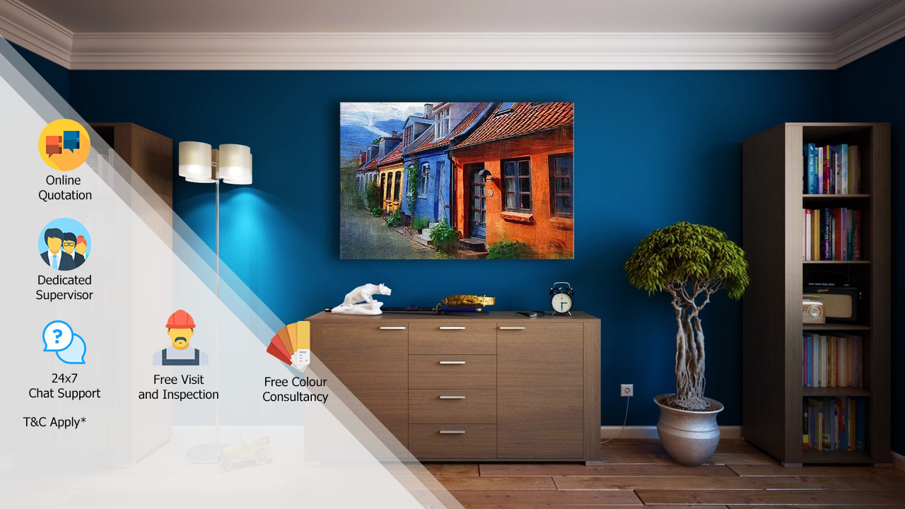Professional home painting services in india